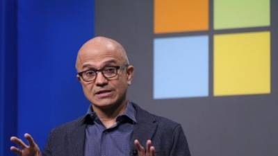 Microsoft CEO Satya Nadella has helped fuel a rebound by the technology giant which has climbed back to the ranks of the world's most valuable companies. — AFP