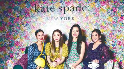 (from left) Juliana Evans, Sandara Park, Rebecca Lim and Jessica Mila.