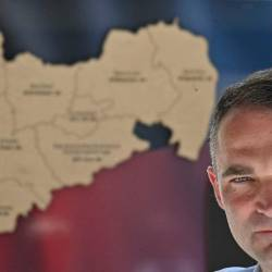 Alternative for Germany (AfD) far-right party top candidate Sebastian Wippel is battling to win the post of mayor — AFP