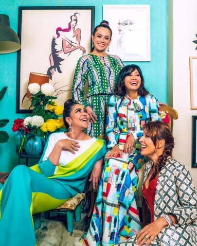 $!Syomirizwa Gupta Raya 2021 collection The Ampang Girls.
