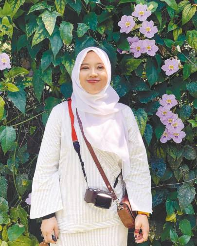 Comic artist Jon Suraya's years of celebrating Eid in Japan away from family has helped her cope with the MCO Eid restrictions. – Courtesy of Jon Suraya