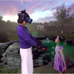 (Video) Korean mom reunites with dead daughter in VR experience