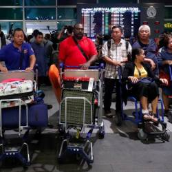 Lombok quake survivors arrive at klia2, Sepang on March 19, 2019. — Sunpix by Ashraf Shamsul