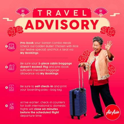Travel tips for the CNY holidays