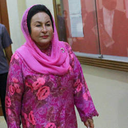 Datin Seri Rosmah Mansor. Picture from Dec 19, 2018.