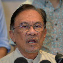 Anwar gives statement to police on sexual misconduct claim