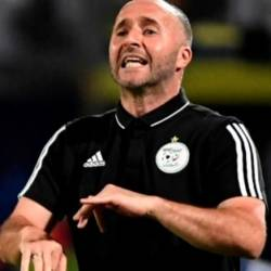 Djamel Belmadi made 20 appearances for Algeria as a player. — AFP