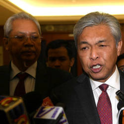 Ahmad Zahid slapped with seven more charges