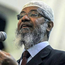 Cops to continue recording Zakir's statement on Monday