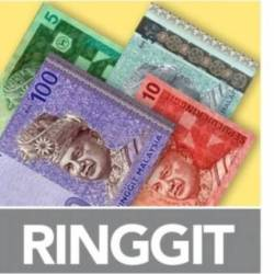 Ringgit ends slightly higher