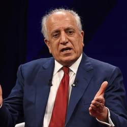 Khalilzad held nine rounds of talks with the Taliban in Doha, Qatar, saying little in public about the negotiations. — AFP