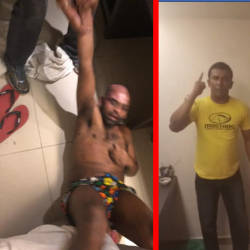 (Video) OKU man beaten up, racially abused after allegedly stepping on holy book