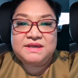 Adibah Noor gave short English lesson regarding 'Thats mean' used by most Malaysians