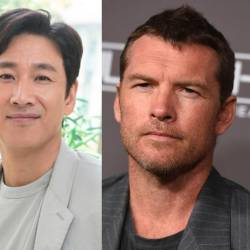 Son Ye Jin, Lee Sun Gyun and Sam Worthington