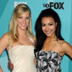 Naya Rivera's Glee co-star Heather Morris offers assistance to search