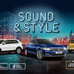 Groove with Volkswagen 'Sound & Style' range