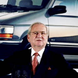 Thanks for the Mustang and popularising the MPV, Mr Iacocca!