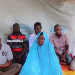 A July 2019 video released by the Islamic State West Africa Province (ISWAP) purportedly shows a female Action Against Hunger (AFC) employee and her five male colleagues that the jihadists kidnapped in northeast Nigeria. — AFP