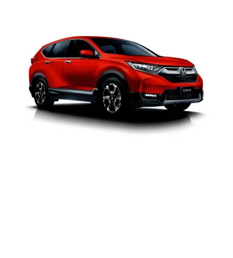 $!For the CR-V, Passion Red Pearl replaces the Obsidian Blue Pearl option for the model.