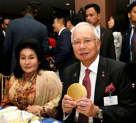 Najib, Rosmah object to third-party bid in PI Bala widow's suit