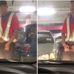 Ipoh hypermarket staff masturbates in front of woman's car