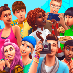 Screenshots from The Sims Spark'd trailer