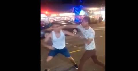 Video Aliff Aziz Gets Into A Public Fight Again