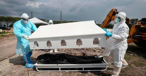 Challenges of managing Covid-19 burials - The Sun Daily