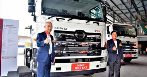 Smarter, safer drive with new Hino 700 series AMT