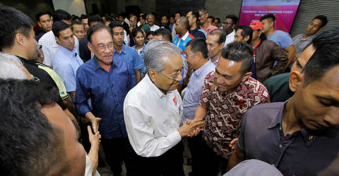 PKR will give full support to Mahathir: Anwar