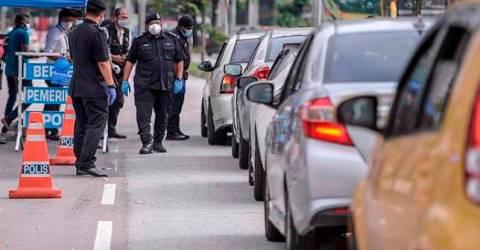 police to mount 13 roadblocks in Kuala Lumpur, Putrajaya