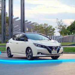 The all-new, second-generation Nissan Leaf will be launched in Malaysia this month.