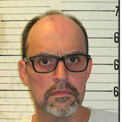 This undated image released by the Tennessee Department of Correction shows death row inmate Lee Hall. — AFP