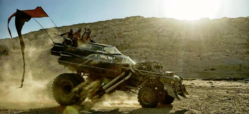 'Mad Max: Fury Road' vehicles to go under the hammer