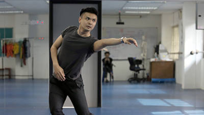 One of the fastest rising contemporary dance choreographers in Malaysia, Kenny Shim has crafted works that have toured Europe including Within and Rite. — Sunpix by Norman Hiu