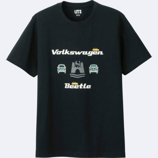 $!Volkswagen icons on Uniqlo t-shirts