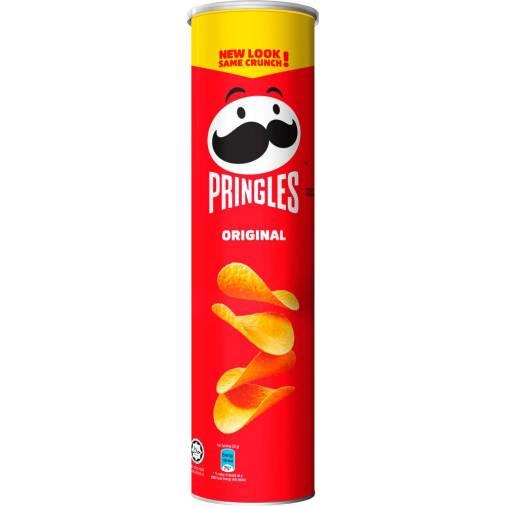 Pringles' Mr P sports a new look and is ready to mingle