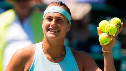 Belarusian tennis star Sabalenka reaches career-high world
