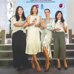 (from left) Siew, Lau, Siti and Khong at the launch. – L'OREAL