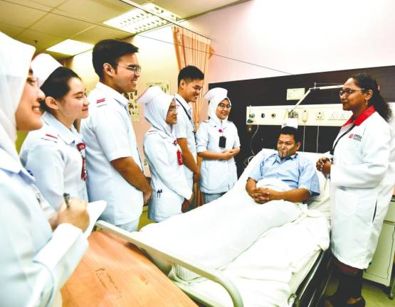 Go far with MSU's nursing programme