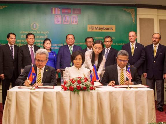 Maybank inks MoU with National Bank of Cambodia for cross-border payment, remittance