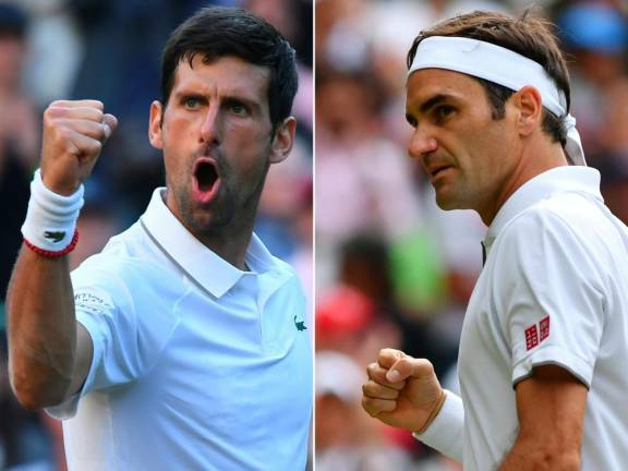 'Stars align' as Federer seeks to break Djokovic spell in Wimbledon final