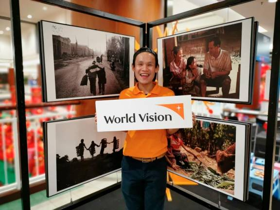 World Vision photo exhibit in Johor Baru