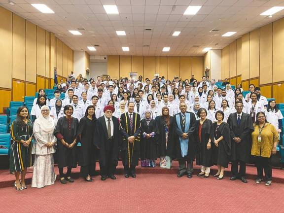 Doctors-in-training return to Malaysia