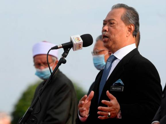 Govt's main priority is ensuring economy is back on right track: Muhyiddin