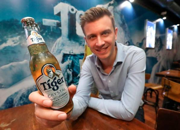 An ultra-refreshing beer from Tiger