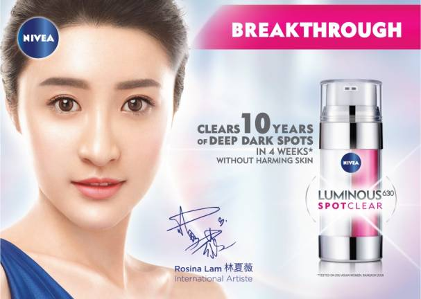 Nivea Luminous630 Breakthrough Innovation Of The Century