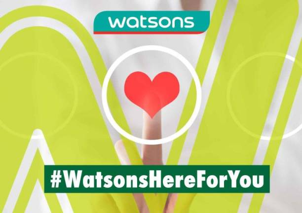 Watsons Malaysia stores and online are open for you