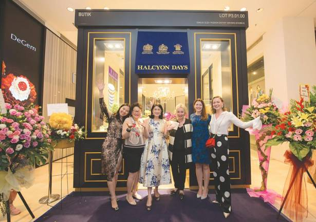 Halcyon Days opens at Pavilion KL