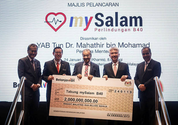 RM8,000 one-off contribution for mySalam recipients